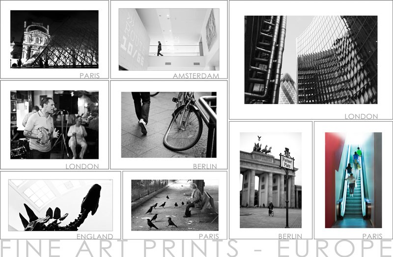 5 Fineartprints Europe