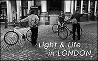 PhotoMail No 1 - 2015: Tale of 4 Cities - Life and Light in London