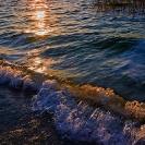 008_LZmL.8220 Lake Bangweulu Dawn abstract