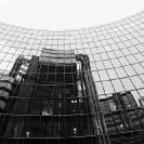 008_ArcUk.2795BW-Lloyd's-Building-reflected-in-Willis-Building-London