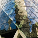 025_ArcUk.2939V-Gherkin-&-City-Reflection-London