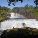 014_TZmN.7940-Kabwelume-Falls-Rainbow-&-Man-N-Zambia