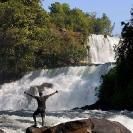 021_TZmN.7976V-Kabwelume-Falls-&-Man-N-Zambia