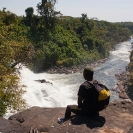 026_TZmN.7954-Kabwelume-Falls-from-above-&-Man-N-Zambia