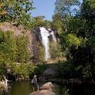 032_TZmN.7770V-Ntumbachushi-Falls-&-Man-Hiking-N-Zambia