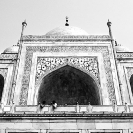 005_TIn_44BW-Taj-Mahal-Agra-India