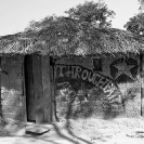 023_CZmA.8663BW-African-Painted-House-Through-Faith-Alone