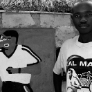 004_CZmA.8557BW-African-Painted-House-&-Owner-Football
