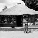 018_CZmA.8068BW-African-Painted-House-N-Zambia