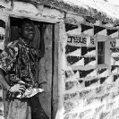 020_PZmNW.8780BW-African-Painted-House-&-Owner-Jesus-is-my-Lord