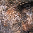 003_RAZm.36-Thandwe-Iron-Age-Rock-Paintings-(with-Motor-Car)-E-Zambia