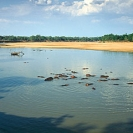 WILDLIFE-Luangwa-No.1-LZmE.320-Elephant-at-Hippo-Junction,-Luangwa-River-LR
